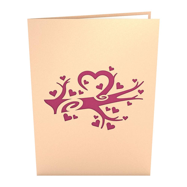 Heart Tree Pop up Card