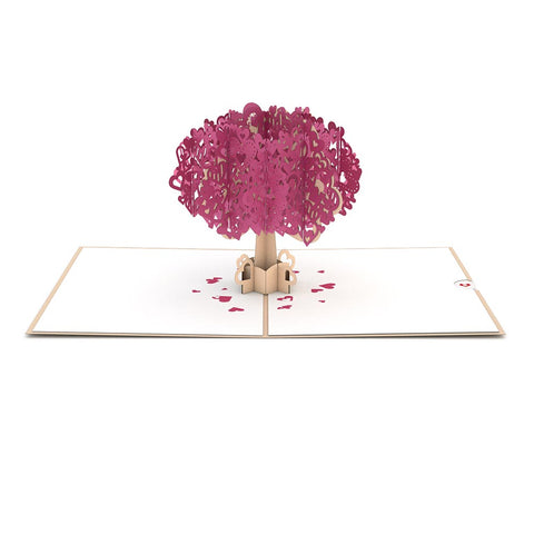 Heart Tree Pop up Card greeting card -  Lovepop