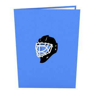 Hockey Player Pop up Card