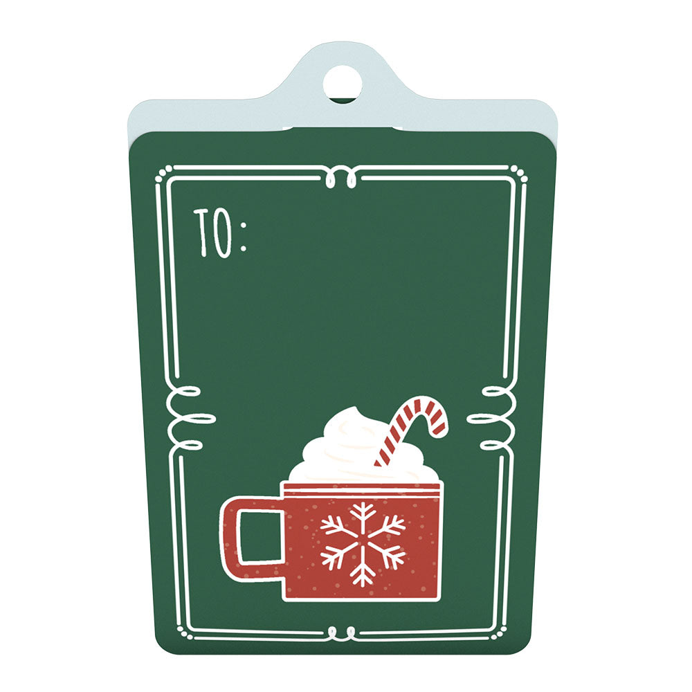Gift Tag 4-Pack: Holiday Cheer             pop up card