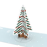 Gift Tag 4-Pack: Holiday Tree                                   pop up card - thumbnail