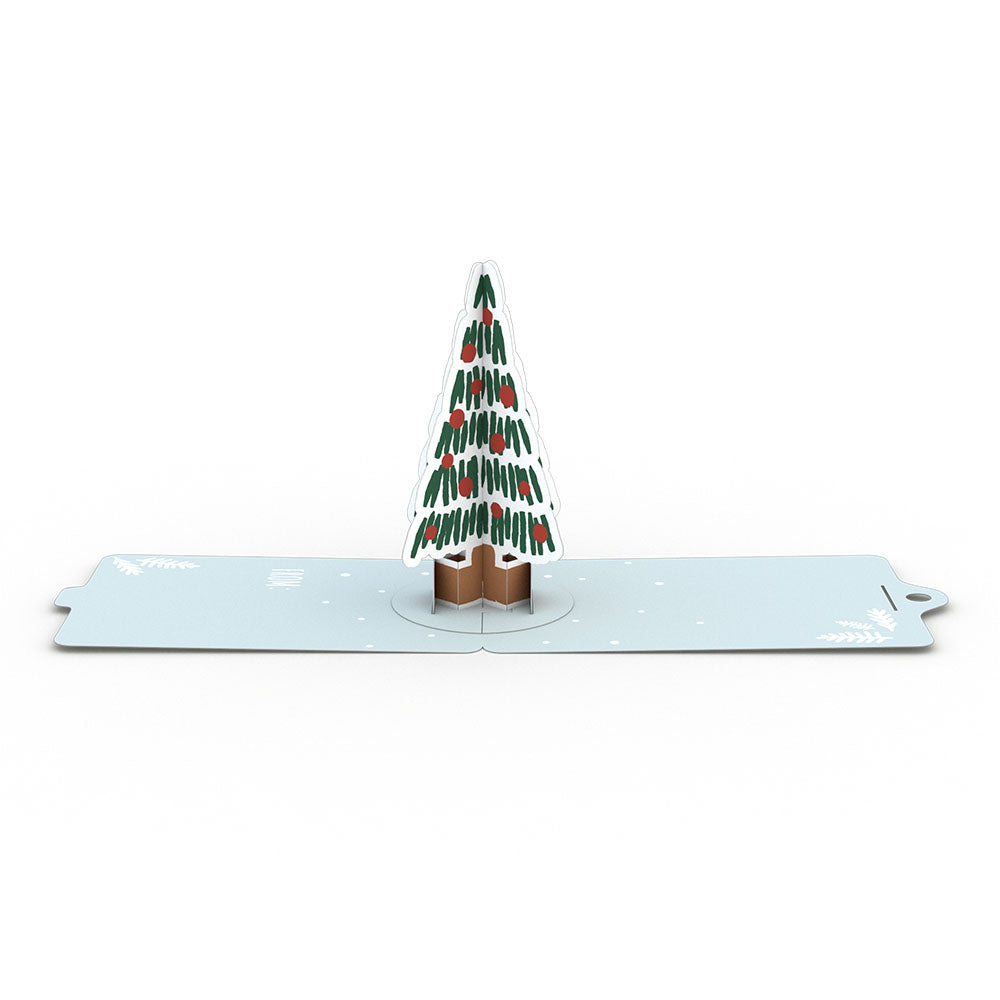 Gift Tag 4-Pack: Holiday Tree