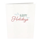 Notecard 24 Set: Holly Jolly                                   pop up card - thumbnail