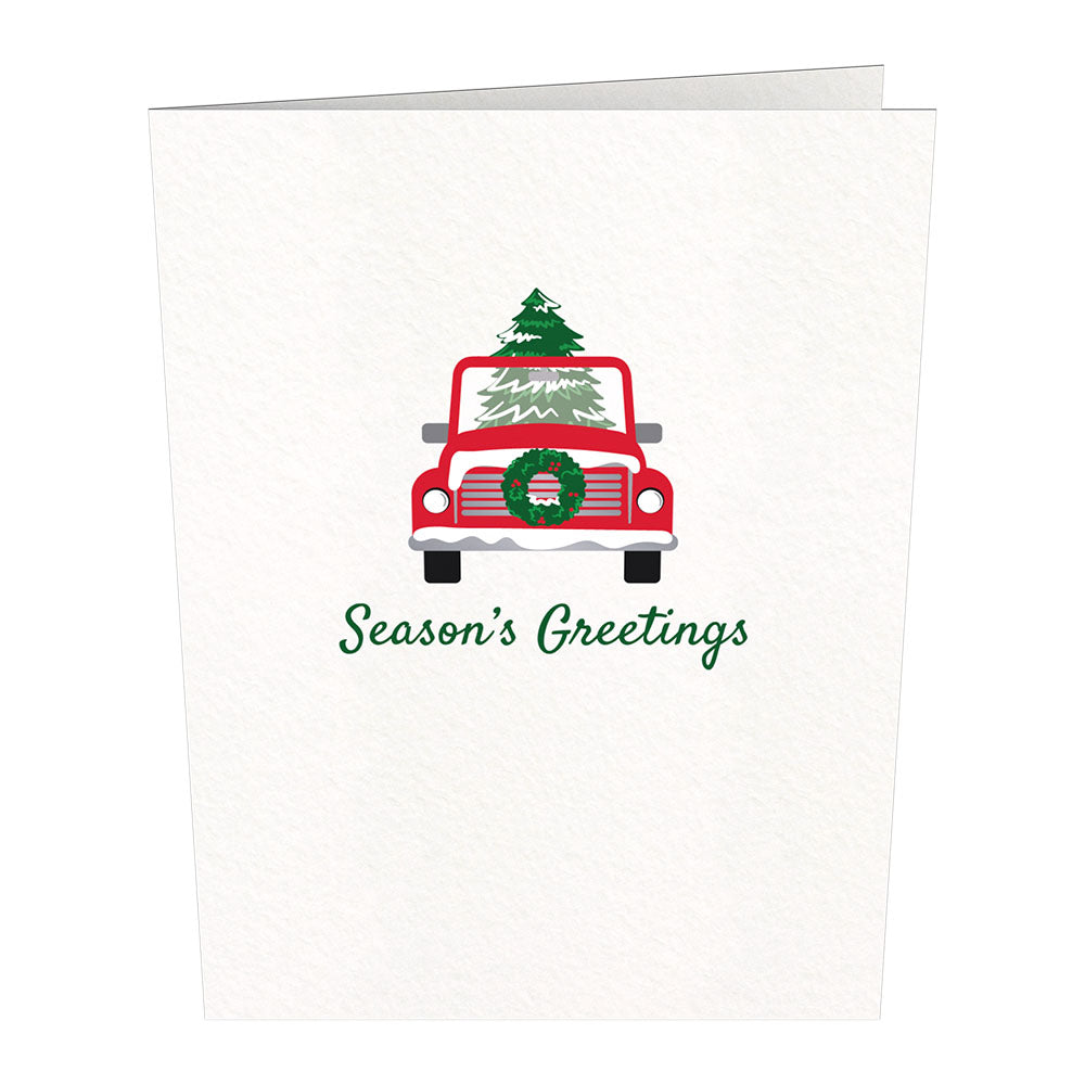 Notecard 24 Set: Holly Jolly             pop up card