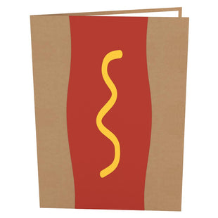Hot Dog Stand Pop-up Card