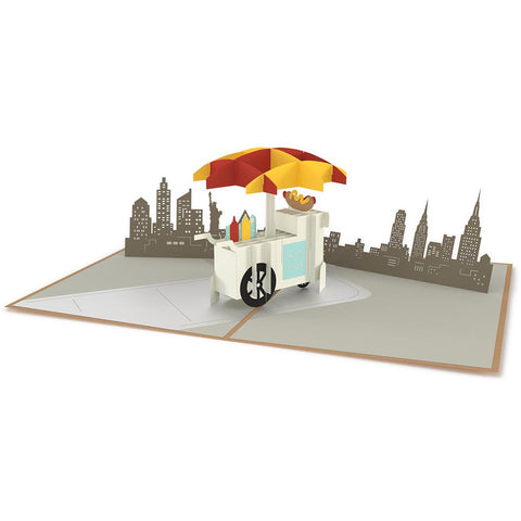 Hot Dog Stand Pop-up Card greeting card -  Lovepop