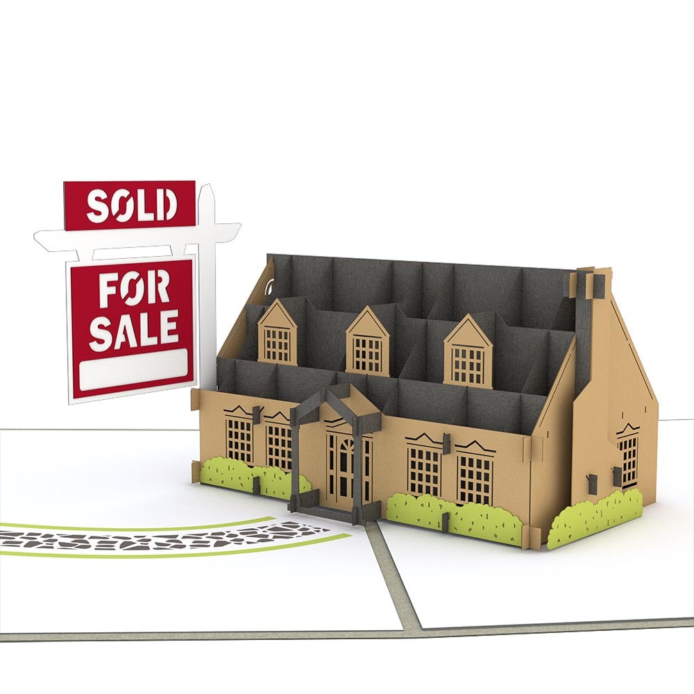 House For Sale Pop-Up Card