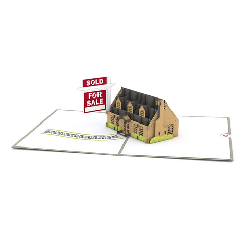 House For Sale greeting card -  Lovepop