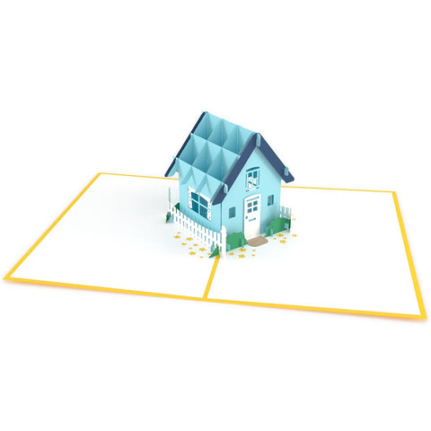 Housewarming Yellow Pop Up Housewarming Card greeting card -  Lovepop