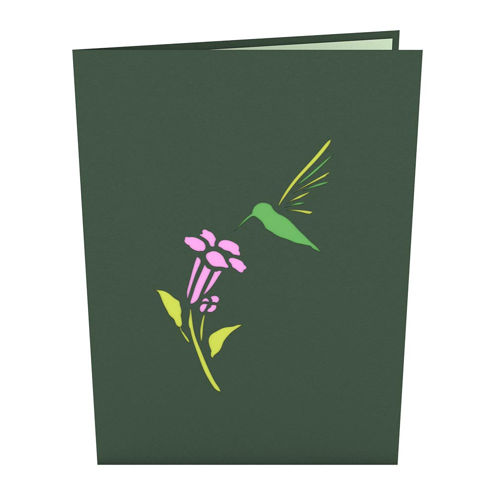 Hummingbird pop up card lovepop hummingbird birthday pop up card m4hsunfo