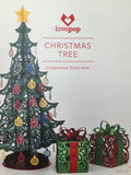 Large Christmas Tree Centerpiece pop up card - thumbnail