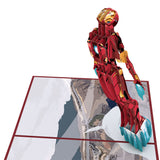 Iron Man birthday pop up card - thumbnail