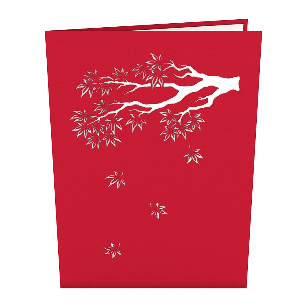 Japanese Maple Pop up Card - Lovepop