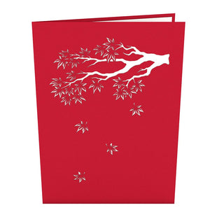 Lovepop magical pop up greeting cards japanese maple pop up card greeting card lovepop japanese maple pop up card m4hsunfo
