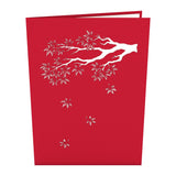 Japanese Maple pop up card - thumbnail