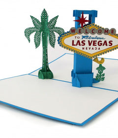 Las Vegas Sign Pop Up Greeting Card greeting card -  Lovepop