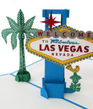 Las Vegas Sign pop up card - thumbnail