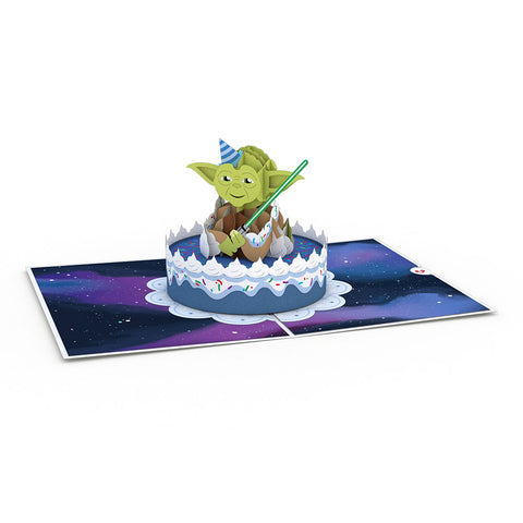 Yoda™ Birthday greeting card -  Lovepop