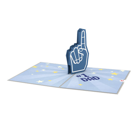 #1 Dad greeting card -  Lovepop