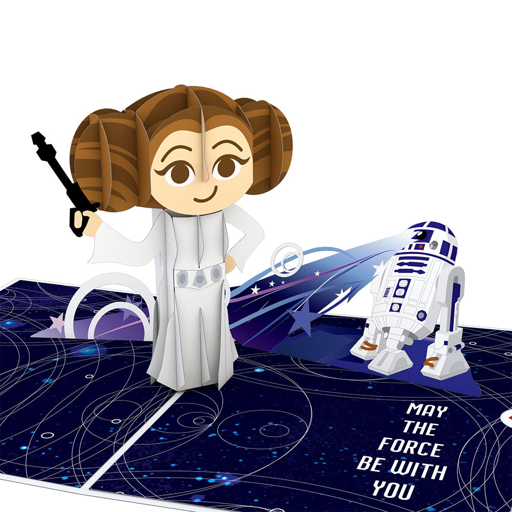 Princess Leia™ Birthday                                         pop up card