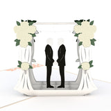 Wedding Couple Same Sex Male                                   pop up card - thumbnail