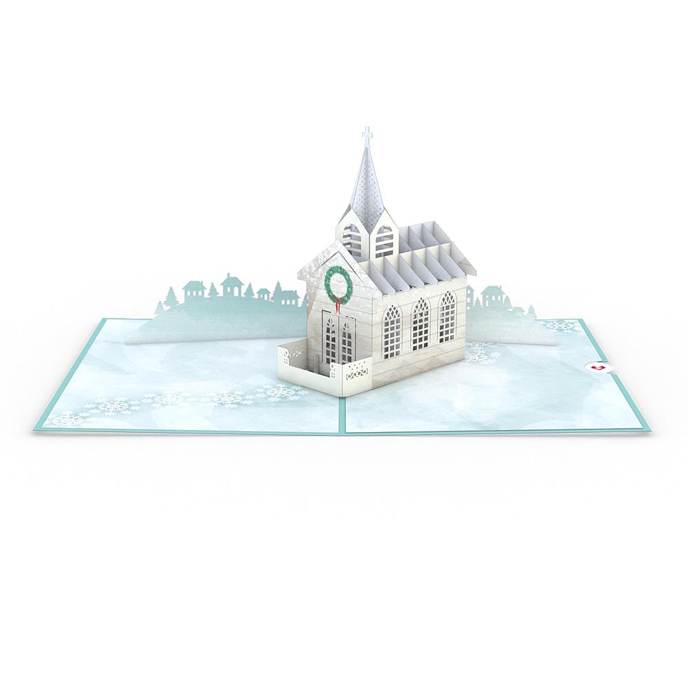 Holiday Chapel             pop up card