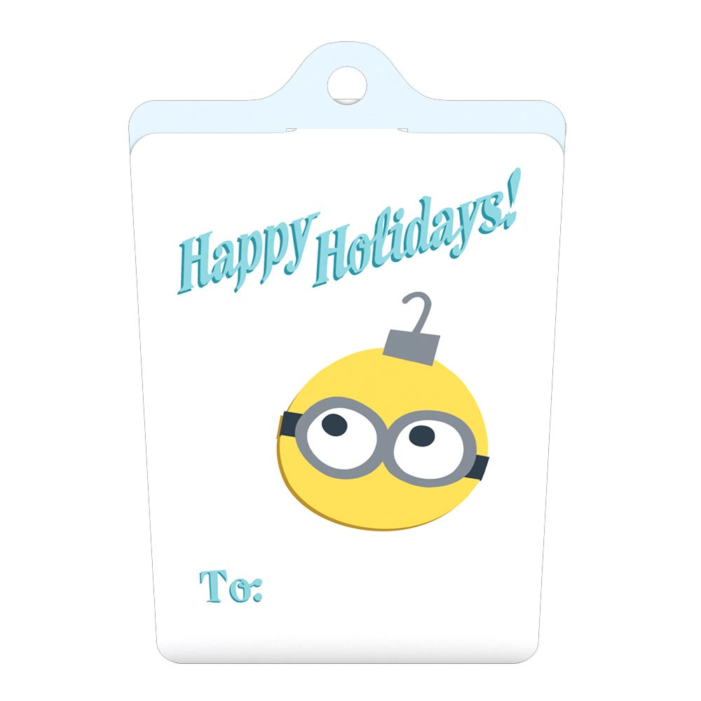 Gift Tag 4-Pack: Despicable Me Minions Holiday