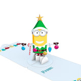 Gift Tag 4-Pack: Despicable Me Minions Holiday                                   pop up card - thumbnail