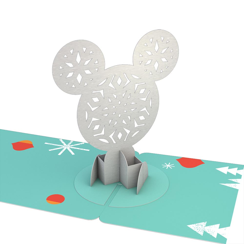 Gift Tag 4-Pack: Disney's Mickey Mouse Merry Holiday pop up card