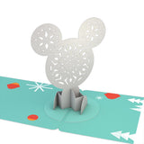 Gift Tag 4-Pack: Disney's Mickey Mouse Merry Holiday pop up card - thumbnail