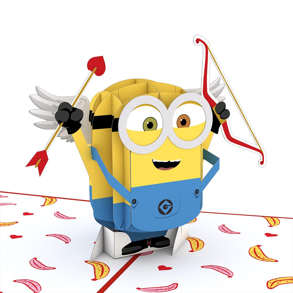 Despicable Me Minions Bananas For You Pop Up Card