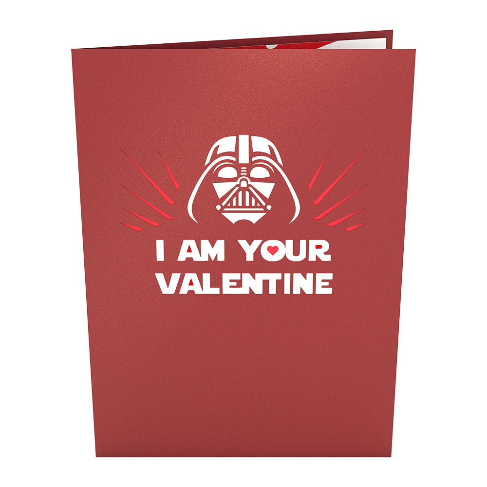 Star Wars Darth Vader™ Valentine             pop up card