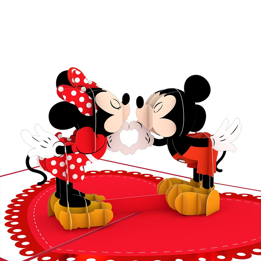 Disney's Mickey & Minnie Heart-to-Heart             pop up card