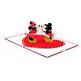 Disney's Mickey & Minnie Heart-to-Heart                                   pop up card - thumbnail