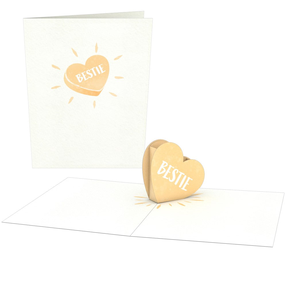 Love Hearts (Assorted 4 Pack)             pop up card