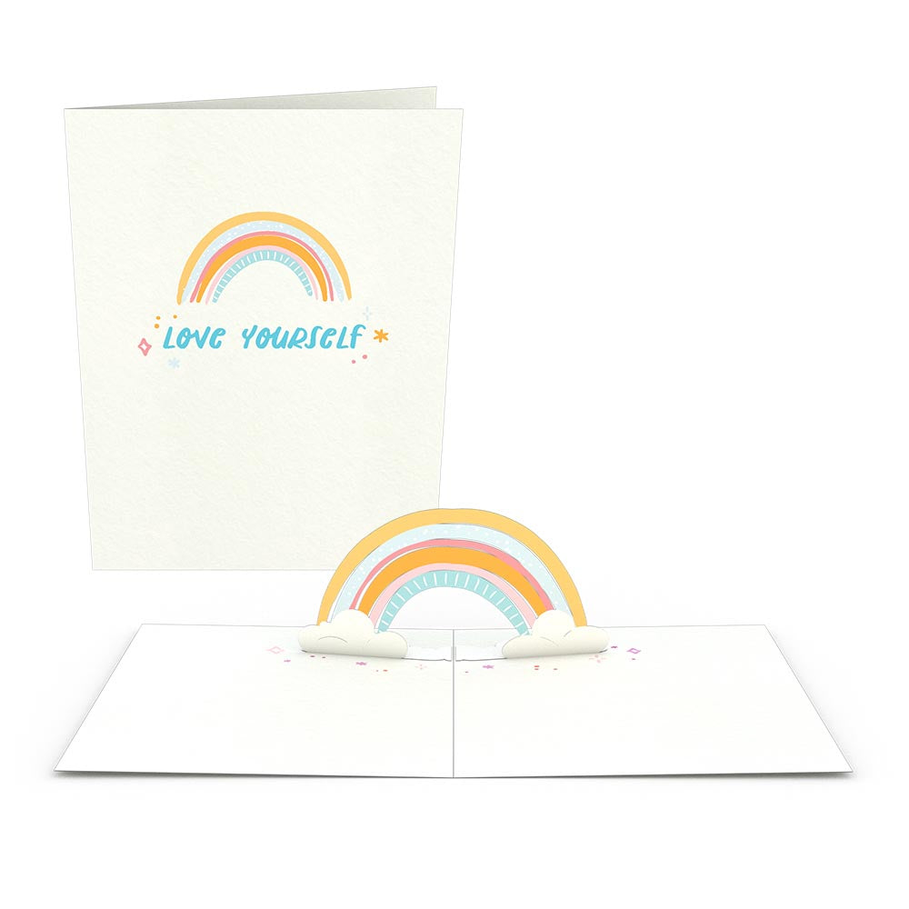 Rainbow Notecards (Assorted 4-Pack)             pop up card