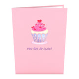 Love Cupcake                                                          birthday                                                     pop up card - thumbnail
