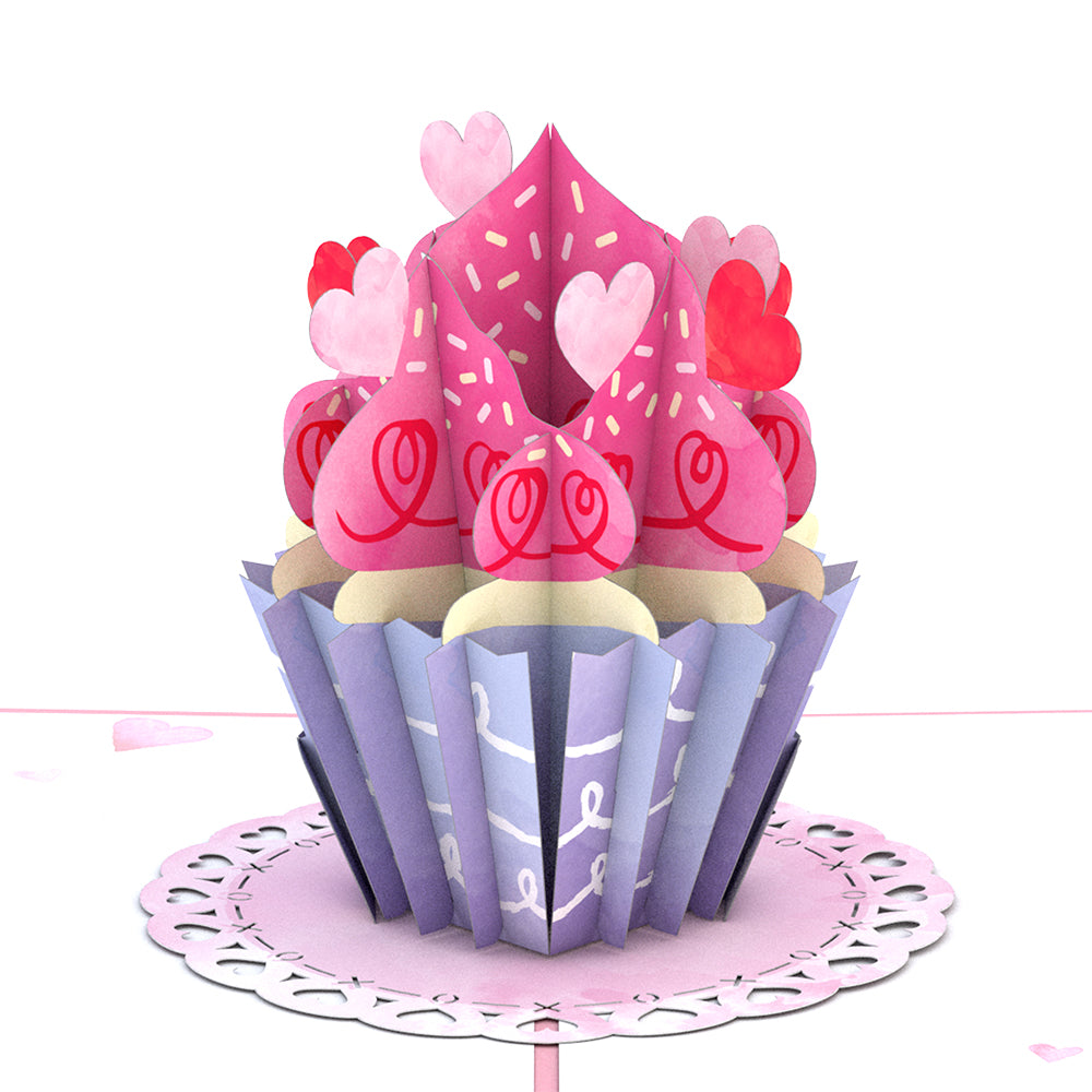 Love Cupcake                                             birthday                            pop up card