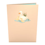 Ducklings                                   pop up card - thumbnail