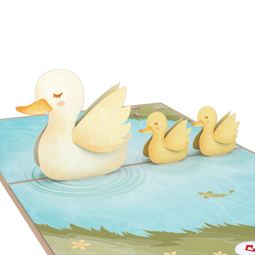 Ducklings             pop up card