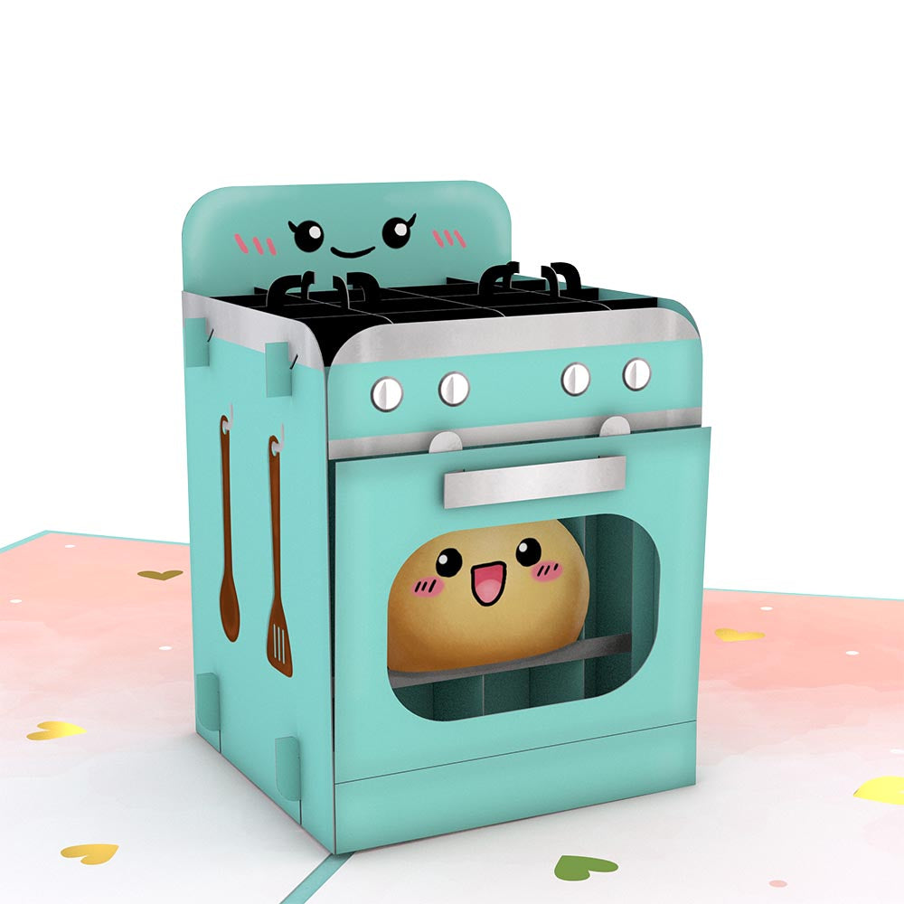 Bun in the Oven Pop-Up Card