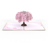 Mother's Day Cherry Blossom                                   pop up card - thumbnail