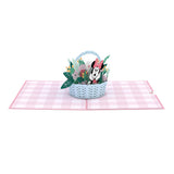 Disney's Minnie Mouse Flower Basket                                   pop up card - thumbnail