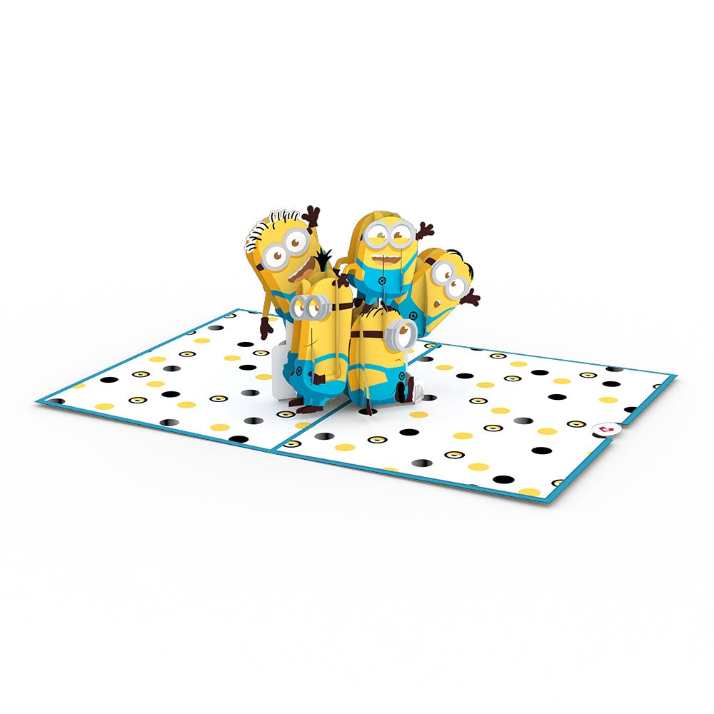 Despicable Me You're One in a Minion Pop-Up Card