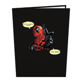 Marvel's Deadpool: Greatest Papa                                   pop up card - thumbnail