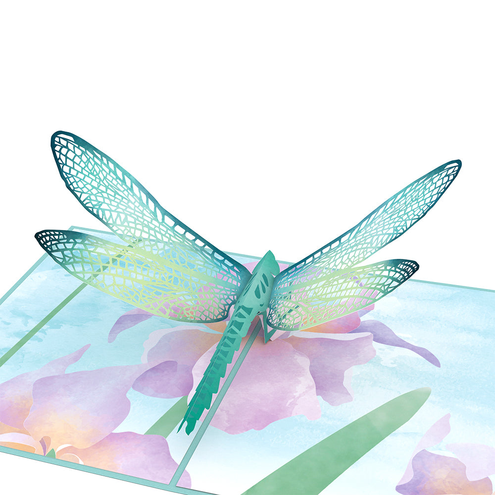 Mother's Dragonfly Pop Up Card