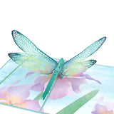 Mother's Dragonfly                                   pop up card - thumbnail