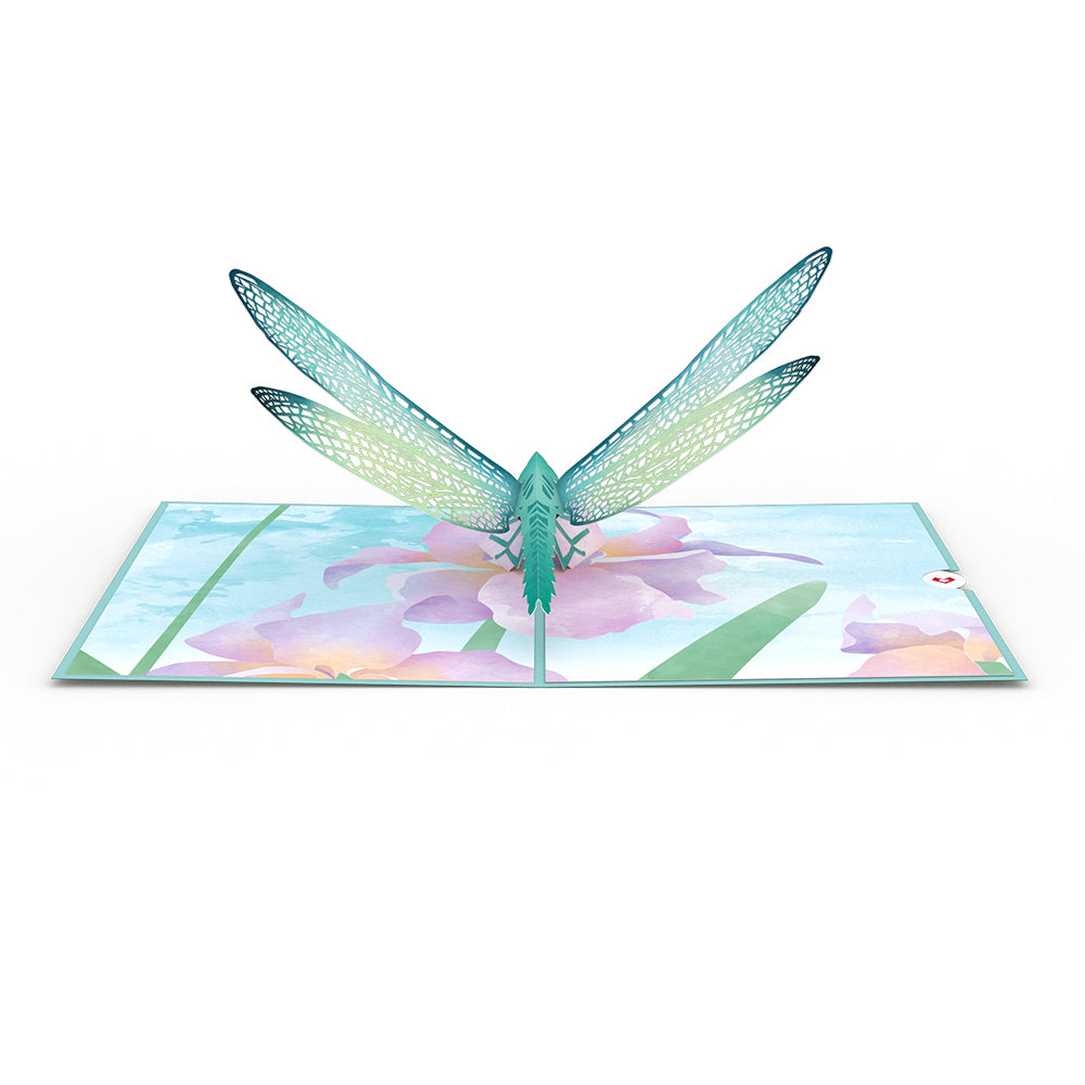 Mother's Dragonfly 3D card