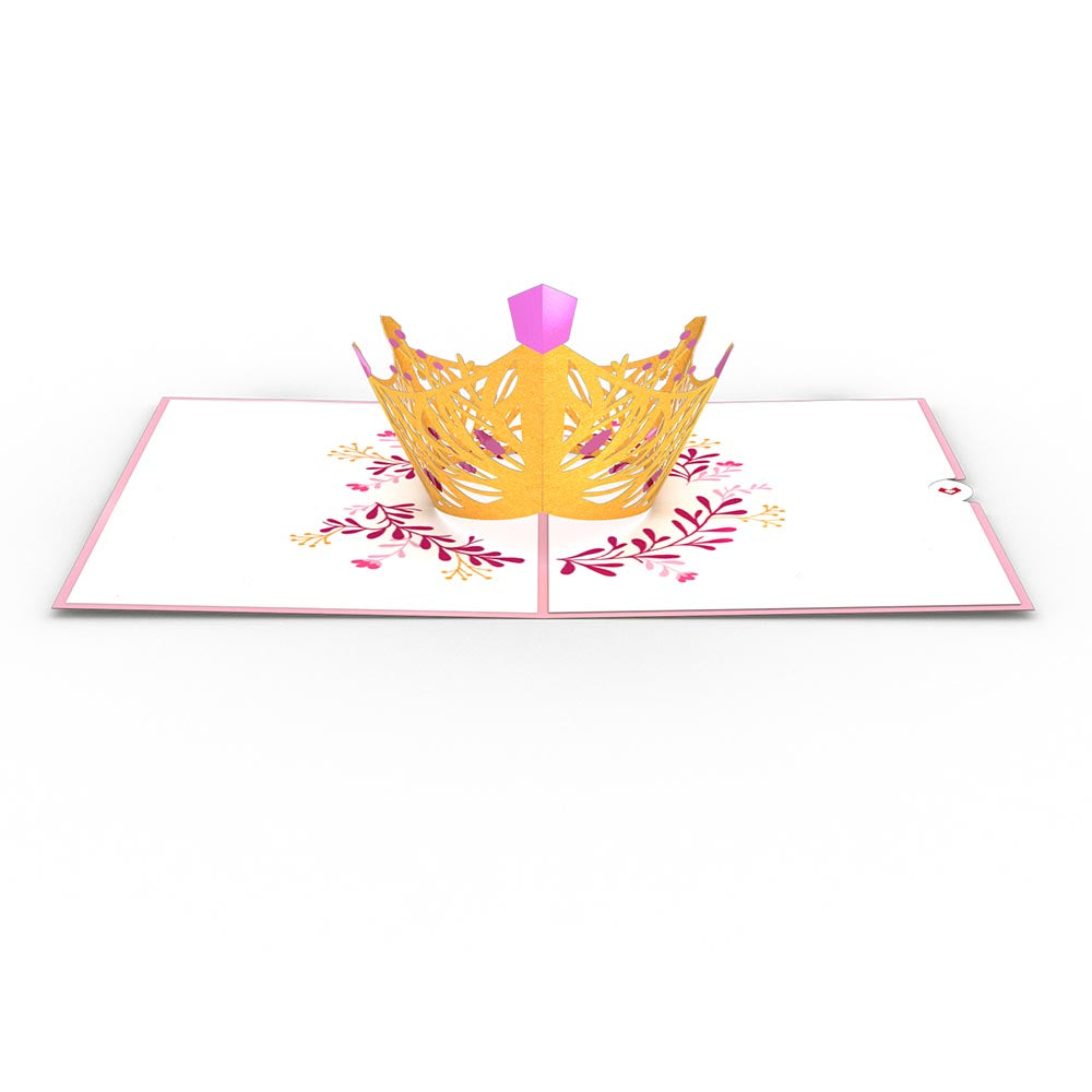 Queen                                             birthday                            pop up card