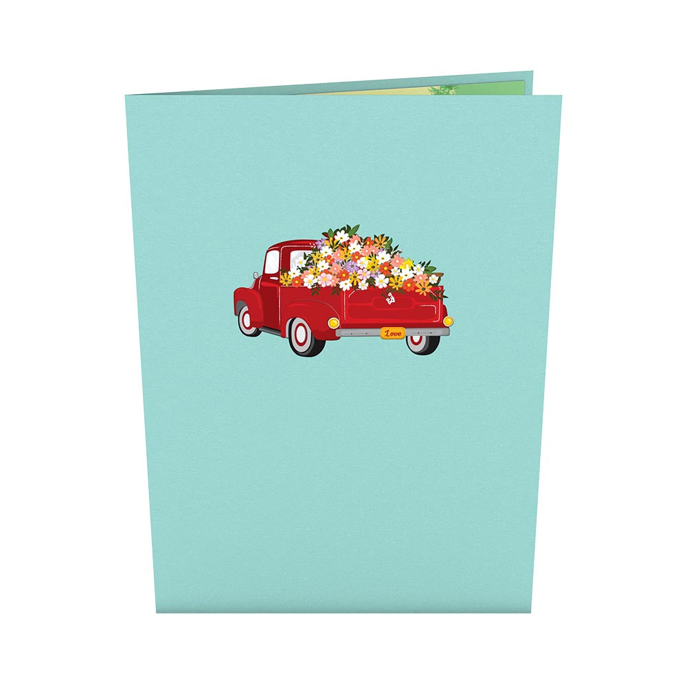 Garden Truck             pop up card
